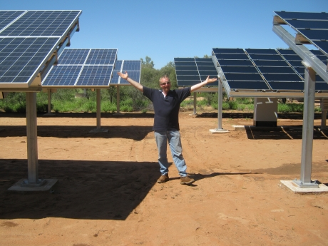 Desert Knowledge 2011 We love solar!